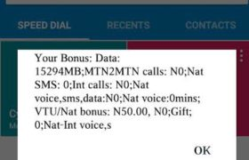 MTN Cheat Codes