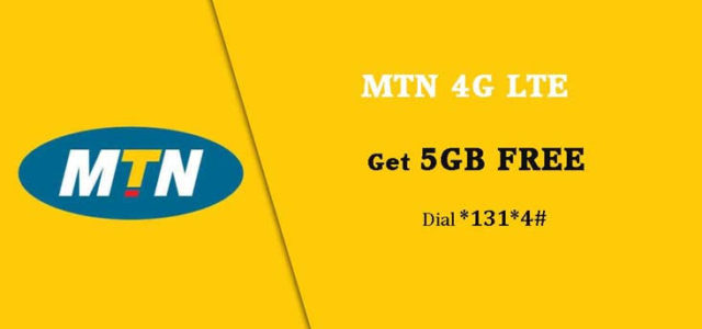 MTN Free Data For Unlimited Internet Access 50GB Free -