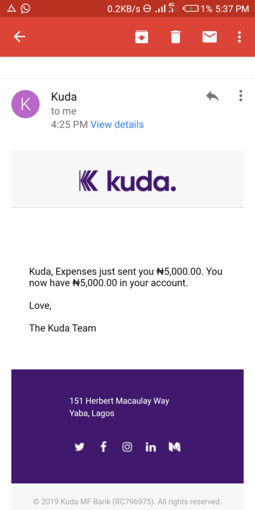 Kuda app review