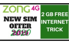 zong free internet check code
