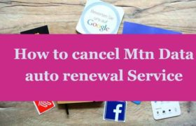 how to cancel auto renewal on mtn