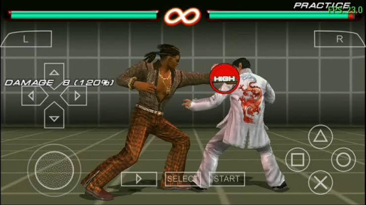 Tekken 6 ppsspp