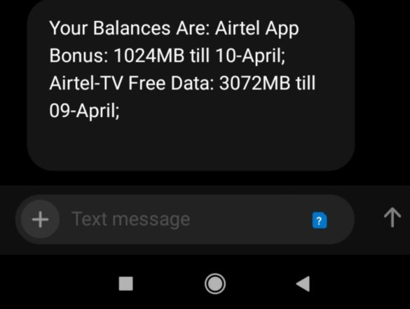 Airtel free Data 2020
