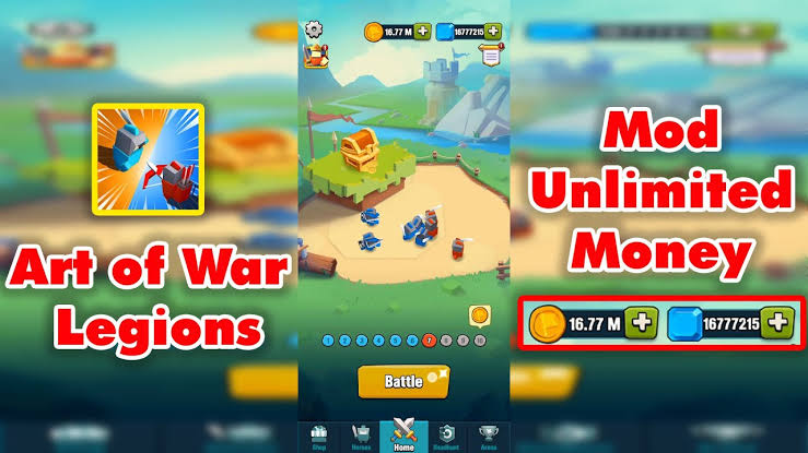 art of war mod apk