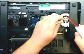 how to clean a laptop fan