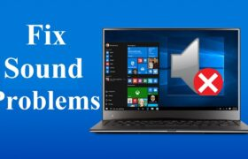 laptop speakers not working