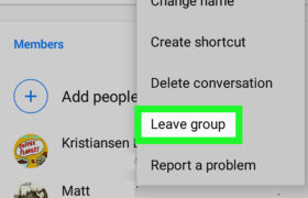 How To Leave A Group Chat On Android