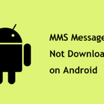 text messages not downloading